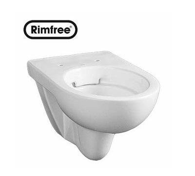 WC misa - Koło Lacné záchodové toaletné WC RIMLESS s doskou