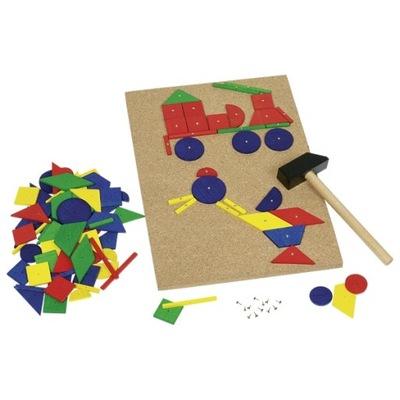 Pre malých domácich majstrov - KORK BALL BAGER puzzle, LARGE 210ks