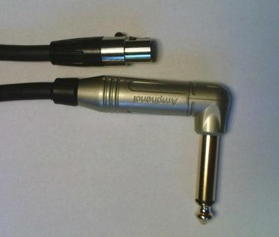 0.75m Jack/mini XLRż 4P zestaw bezprzewodowy LINE6