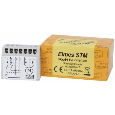 STM Miniatúrne ovládač žalúzií banky 230V ELMES