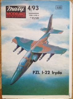 MM 4/1993 Samolot PZL I-22 Iryda