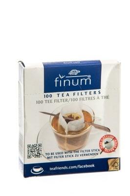 Фильтры бумажные пакеты FINUM (ШИРОКИЕ) 100шт.