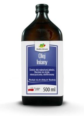 льняное масло  1л 2x500ml ХОЛОДНОГО ОТЖИМА