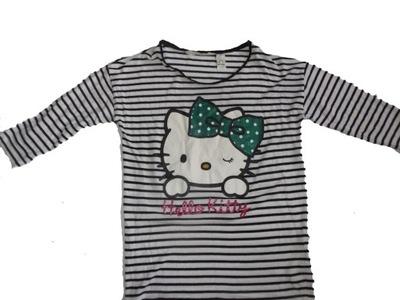 H&M Tunika z Hello Kitty roz 146-152 jak NOWA