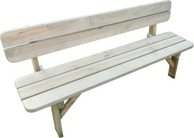 Záhradné lavice 150 cm ODOLNÉ, STABILNÉ VÝROBCA
