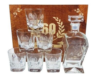 ГРАФИН 6 стаканов подарок на 18 30 40 50 день рождения
