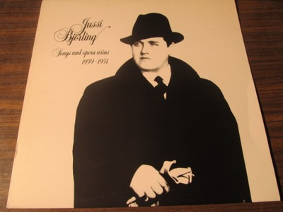 JUSSI BJORLING: SONGS AND OPERA ARIAS .J6