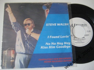 Steve Walsh - I  Found Lovin'  SP /UK/