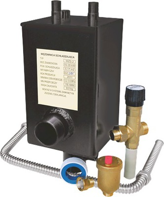 Chladiaca špirála ventil WZS-2 + JBV, sada