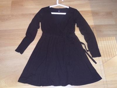 H&M Śliczna Czarna Sukienka - M