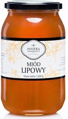 МЕД lipowy С ВАРМИИ 1 ,2 КГ свежий ароматический !