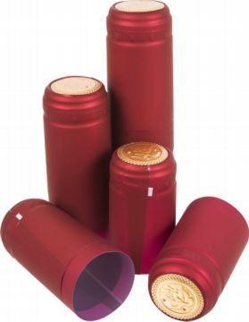 Колпачки термоусадочные красное 10шт