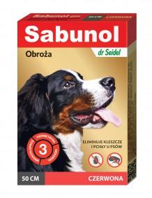 Сабунола красная воротник блох/клещей 50см