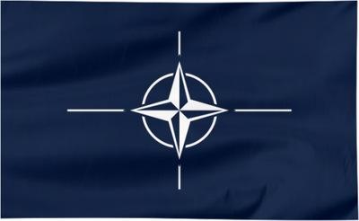 Flaga NATO 120x75cm - flagi NATO qw