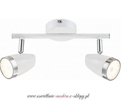 Listwa biała BLANCA reflektory LED 8W SPOT