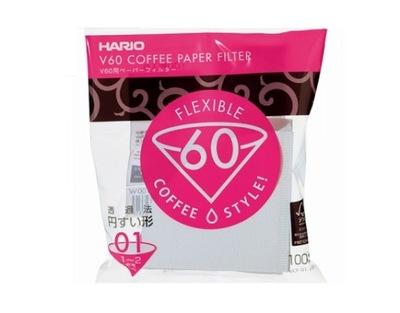 Фильтры бумажные Hario V60-01