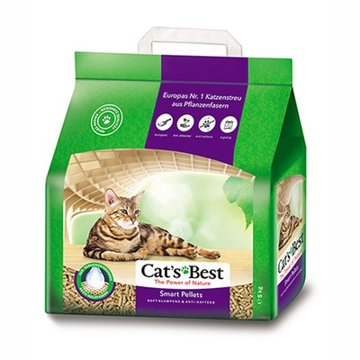 НАПОЛНИТЕЛЬ Cat 'S Best Nature Gold / Smart Pellets 20л