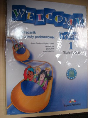 Welcome Friends 1 komplet  Express Publishing