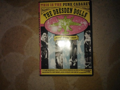 The dresden dolls-live at the roundhouse/dvd/