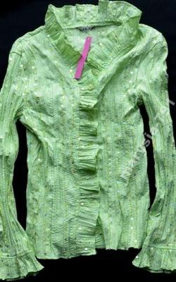 Extra bluzka z cekinami NOWA kreszowana-38/40