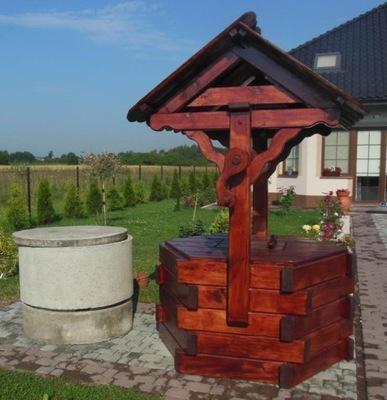 Studnia Drewniana Meble Ogrodowe Z Bala 7512057019