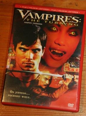 WAMPIRY PRZEMIANA   DVD