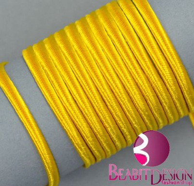 Sutasz żółty (44) - 2metry  (PEGA 4202) SOUTACHE