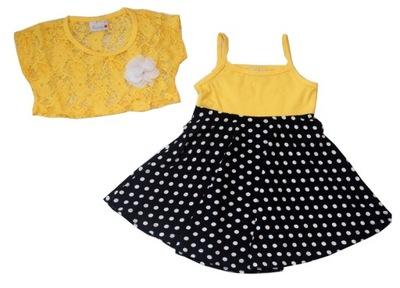 1ccf4d87df sukienka w groszki 116 cm - 7427599122 - oficjalne archiwum allegro