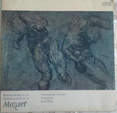 WOLFGANG A. MOZART - SINFONIE ES-DUR I G-MOLL