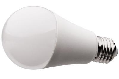 Лампа LED E27 2835 SMD шар молочное Тепло 14W