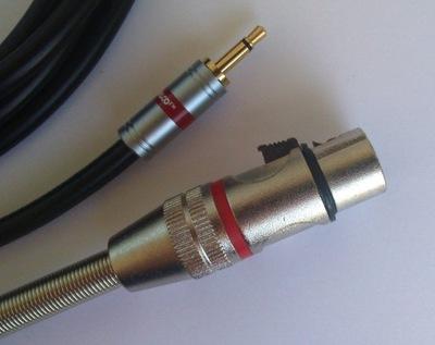 IMG kabel  mini Jack mono / XLR  żeński 3P    6m