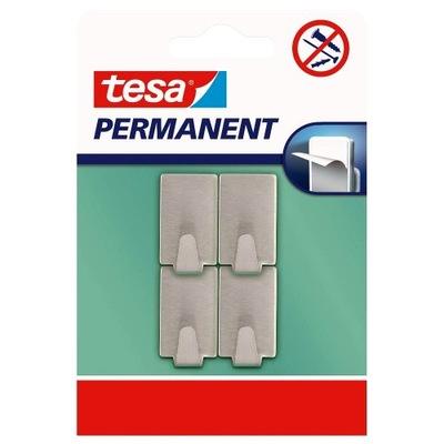 крючки вешалки-липучки TESA стальные x4