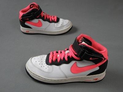 NIKE AIR FORCE I skórzane buty sportowe 38