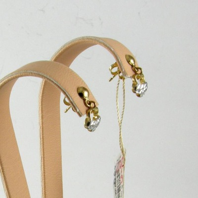 Kolczyki wiszące Złote 333 eleganckie VERONA