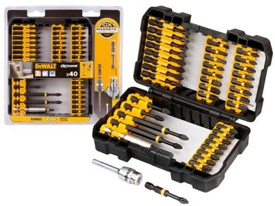 Elektrický skrutkovač - DeWalt DT70541T nárazové bity TORSION set 40ele
