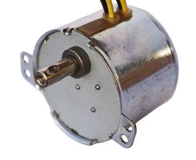 Silnik z przekładnią 1 obr/min 15 kg.cm, 230V