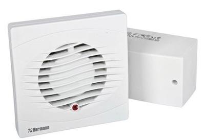 Ventilátor - Kúpeľňový ventilátor BASE 100H 12V HIGROSTAT