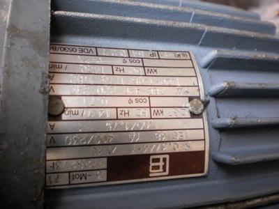 motoreduktor 46 obr silnik elektryczny 0,4 kw