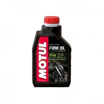Olej do amortyzatorów MOTUL FORK OIL 5W 1l