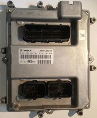 Компьютер Драйвер Двигателя EDC7 51.25803-7860 ЧЕЛОВЕК