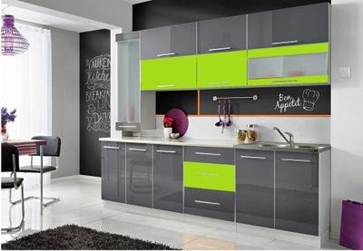 Мебель Кухонные Monika S высокий блеск -10 цвета