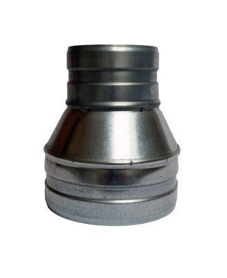 Zníženie 180/140 hadice potrubia spiro extractor ventilátor