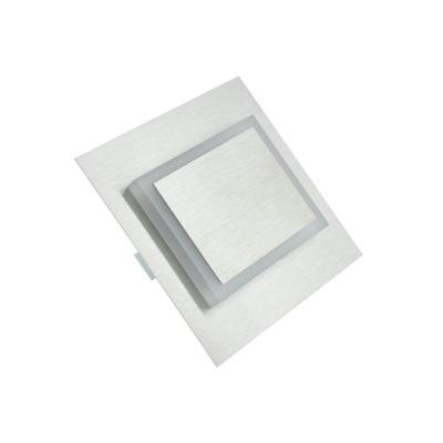 Bodové svetlá, bodové osvetlenie - Oprawa schodowa LED Deco srebrna zimna LEDisON