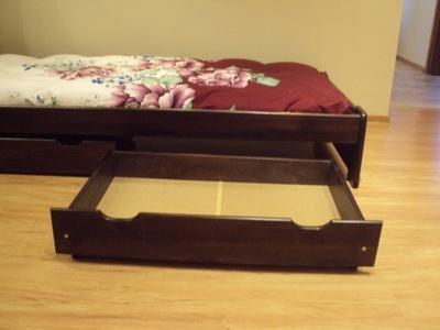 ящик ?????????? сосновая под кровать 100 см Орех
