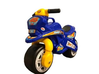jeździk motorku beží Motorek odpychacz n