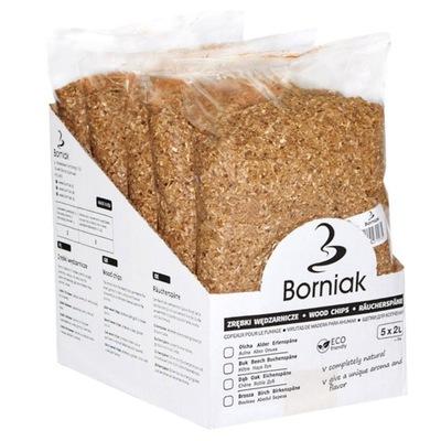 Щепа для копчения Borniak 10 L - Дуб