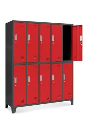 шкаф социальная охране ТРУДА МЕТАЛЛИЧЕСКИЙ для одежды  НОВАК