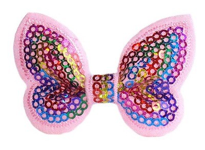 НЕОБЫЧНАЯ БАНТИКИ бабочки БАНТИК заколка РАДУГА