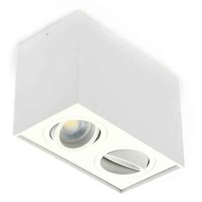 Hnuteľný lampa na STENU mieste GU10 LED, 3 farby