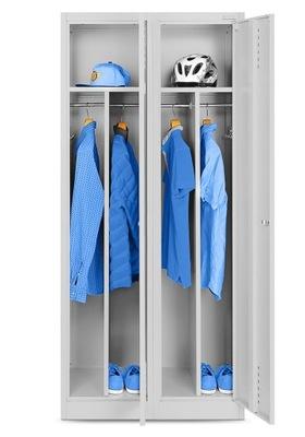 4 х КАМЕРНЫЙ ШКАФ шкаф шкаф ??? одежды социальной БЕЗОПАСНОСТИ